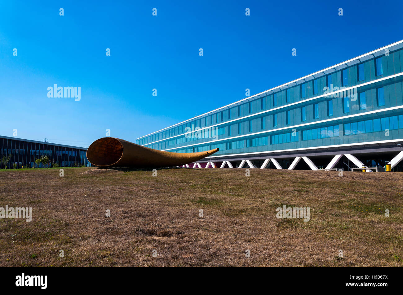 Bizkaiko Campusa, Universidad del Pais Vasco. Bilbao University campus, Spain - Stock Image
