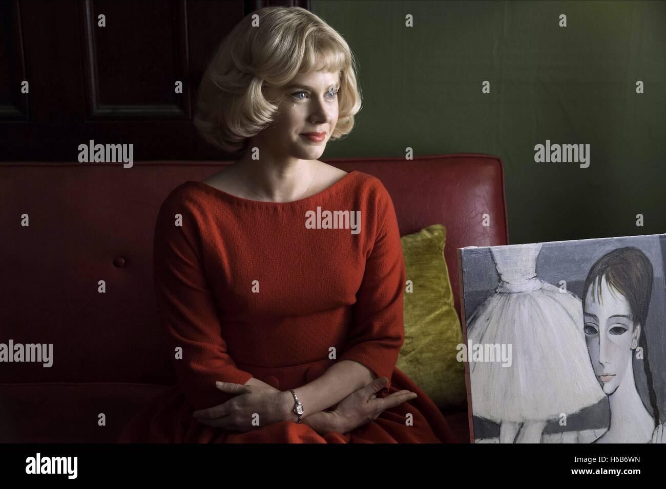 AMY ADAMS BIG EYES (2014) - Stock Image