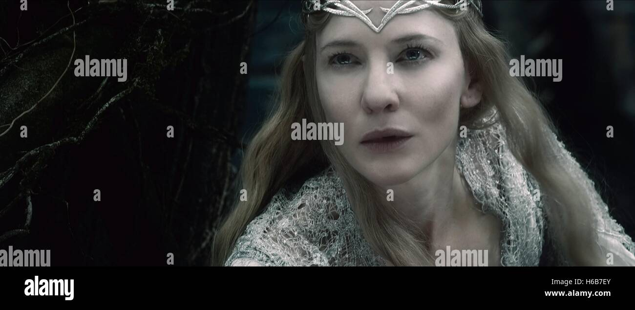 CATE BLANCHETT THE HOBBIT: THE BATTLE OF THE FIVE ARMIES (2014) - Stock Image
