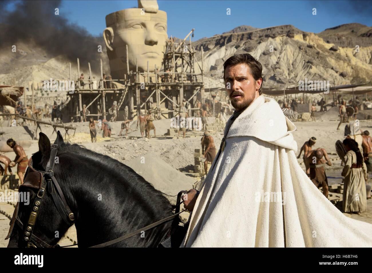 Christian Bale Exodus Gods And Kings 2014 Stock Photo Alamy
