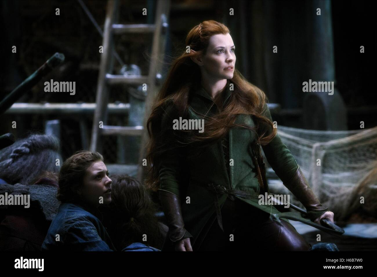Evangeline Lilly The Hobbit The Battle Of The Five Armies 2014 Stock Photo Alamy