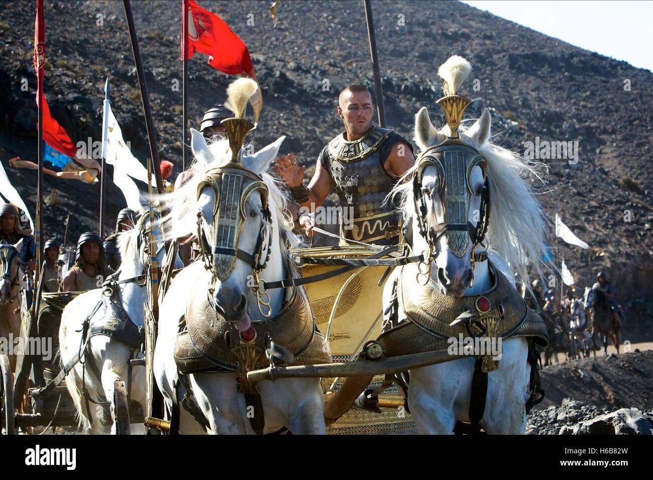 JOEL EDGERTON EXODUS: GODS AND KINGS (2014) - Stock Image