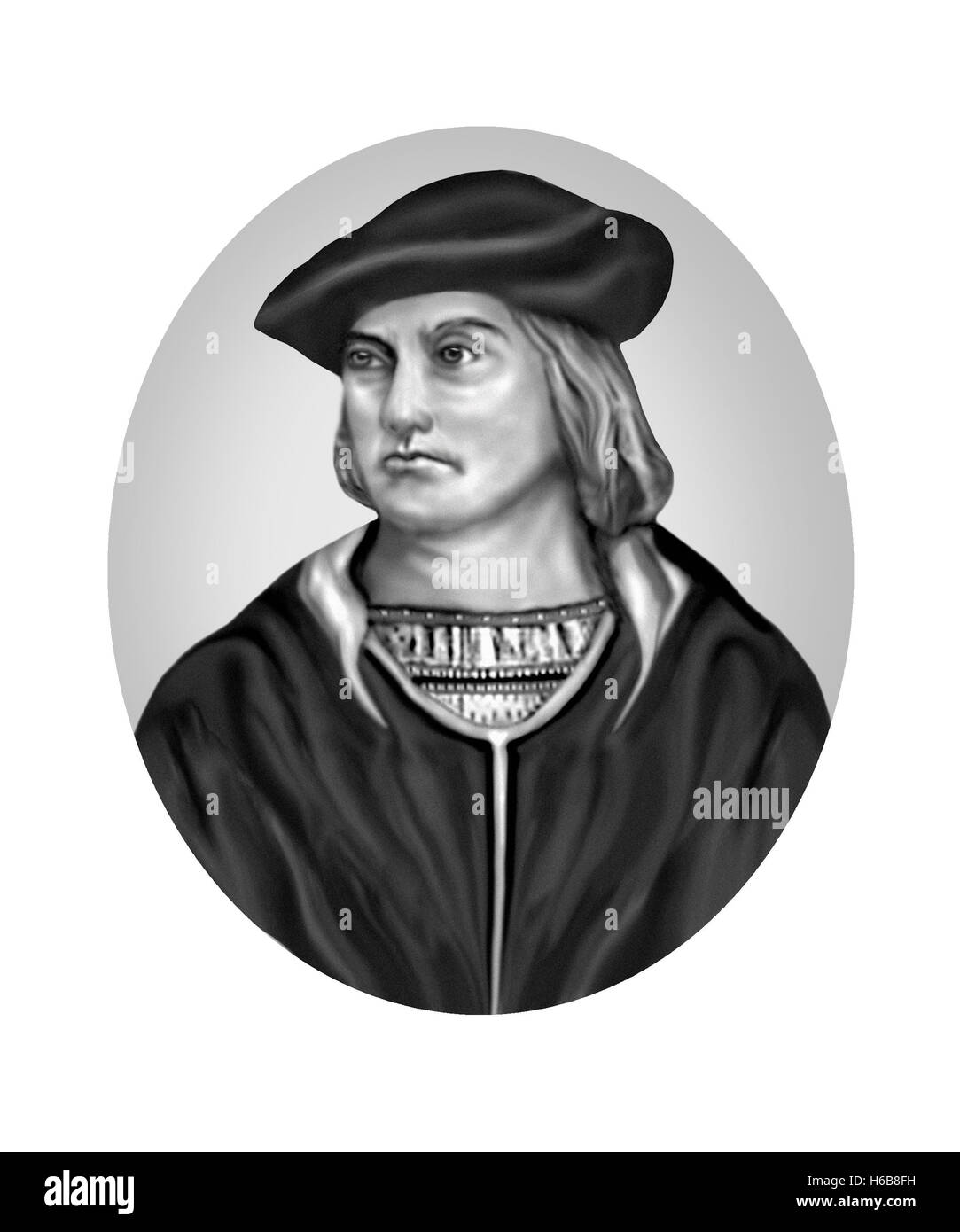 Bartolomeu Dias, c1450-1500, Navigator, Explorer - Stock Image