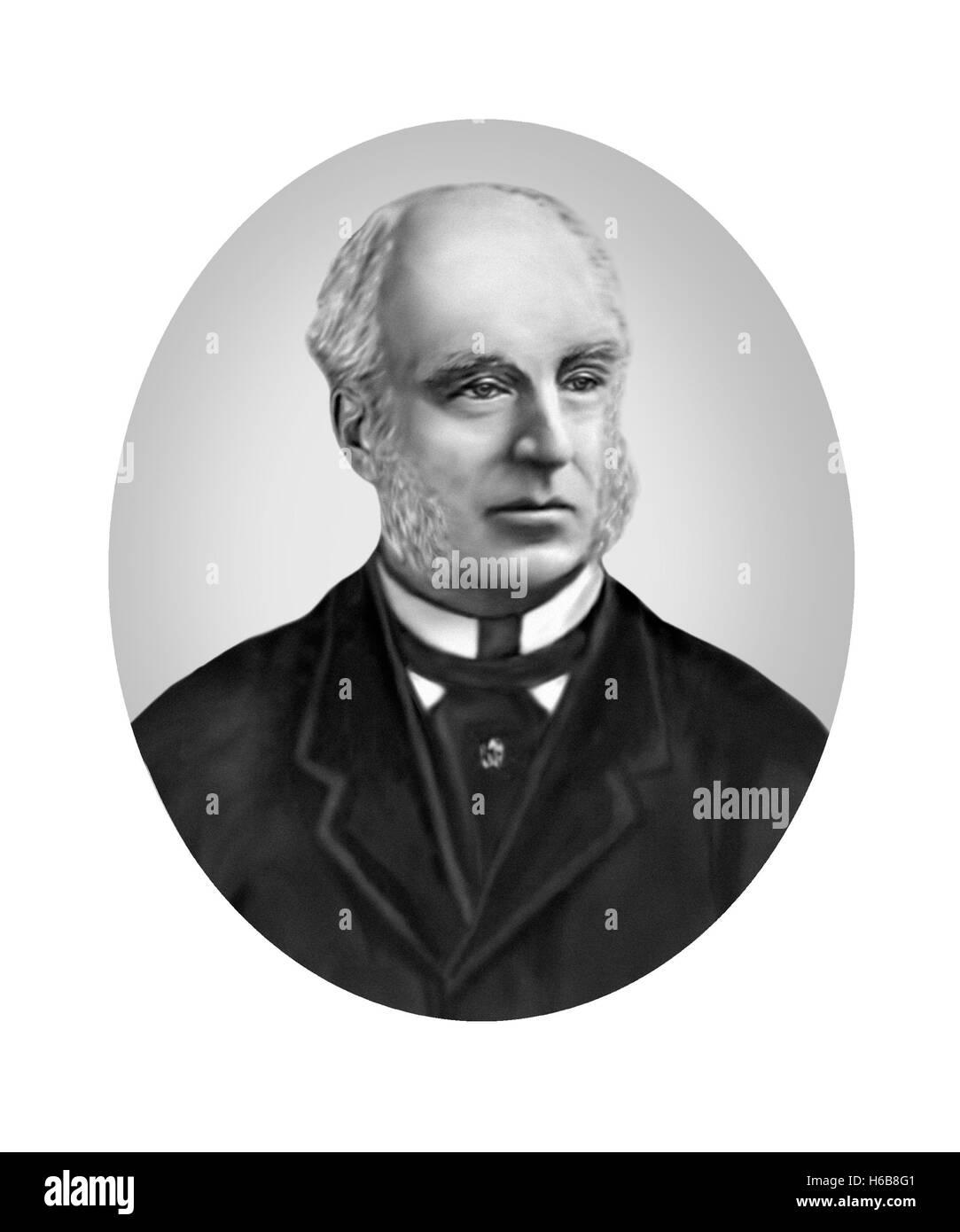 Thomas Hughes, 1822-1896, Novelist, Reformer - Stock Image