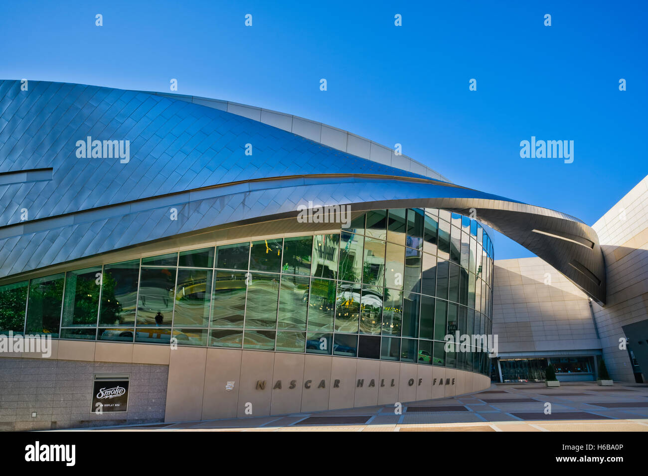 Nascar Hall Of Fame, Charlotte, NC - Stock Image