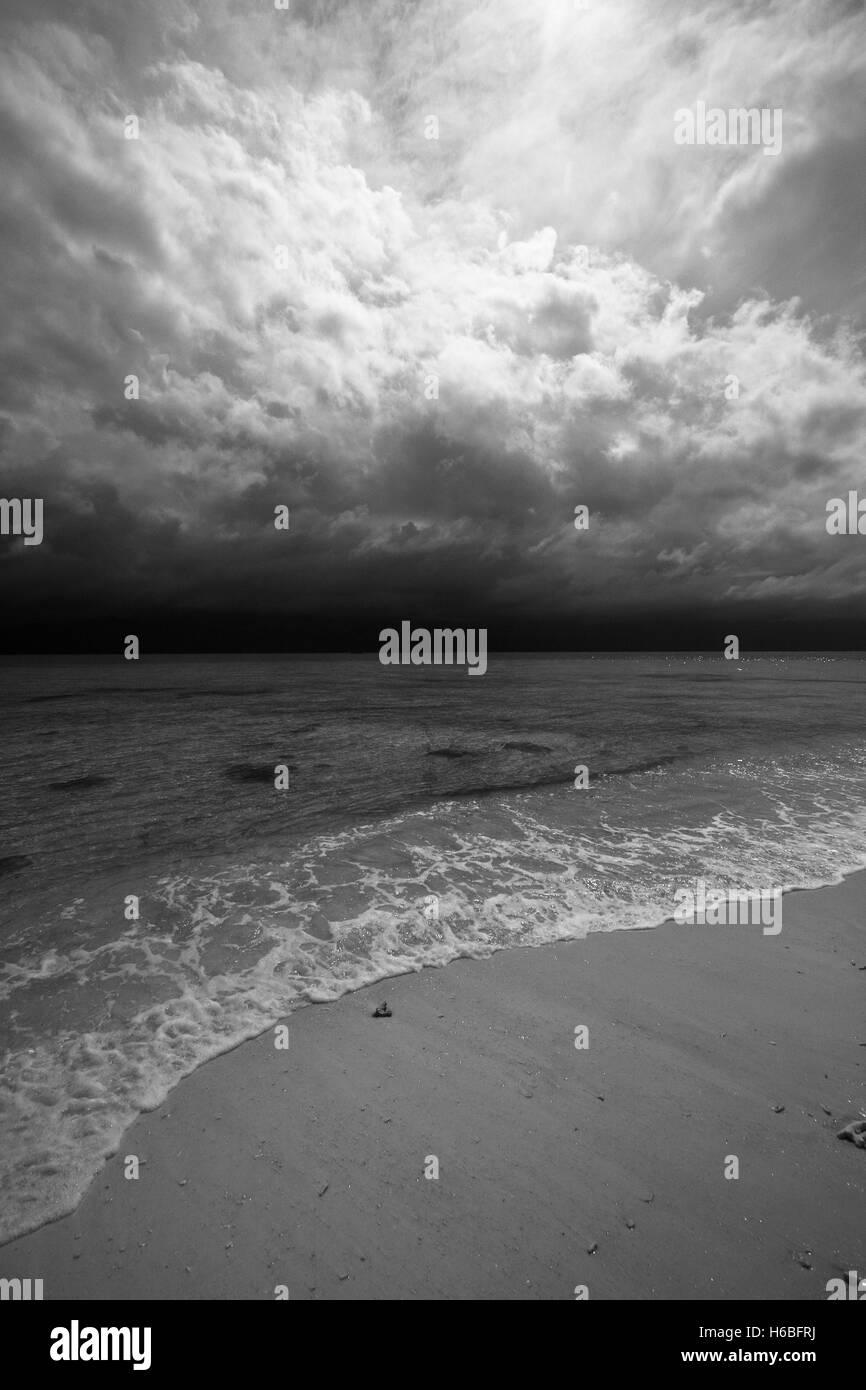 Inhabited island. Gorontalo, Sulawesi. Indonesia - Stock Image