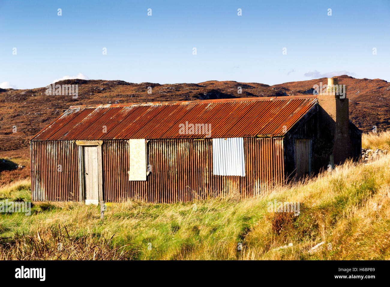 Old Barn Ruin Isle Of Lewis Western Isles Outer Hebrides
