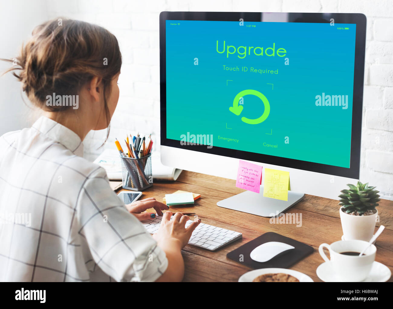 Upgrade Update New Version Concept - Stock Image