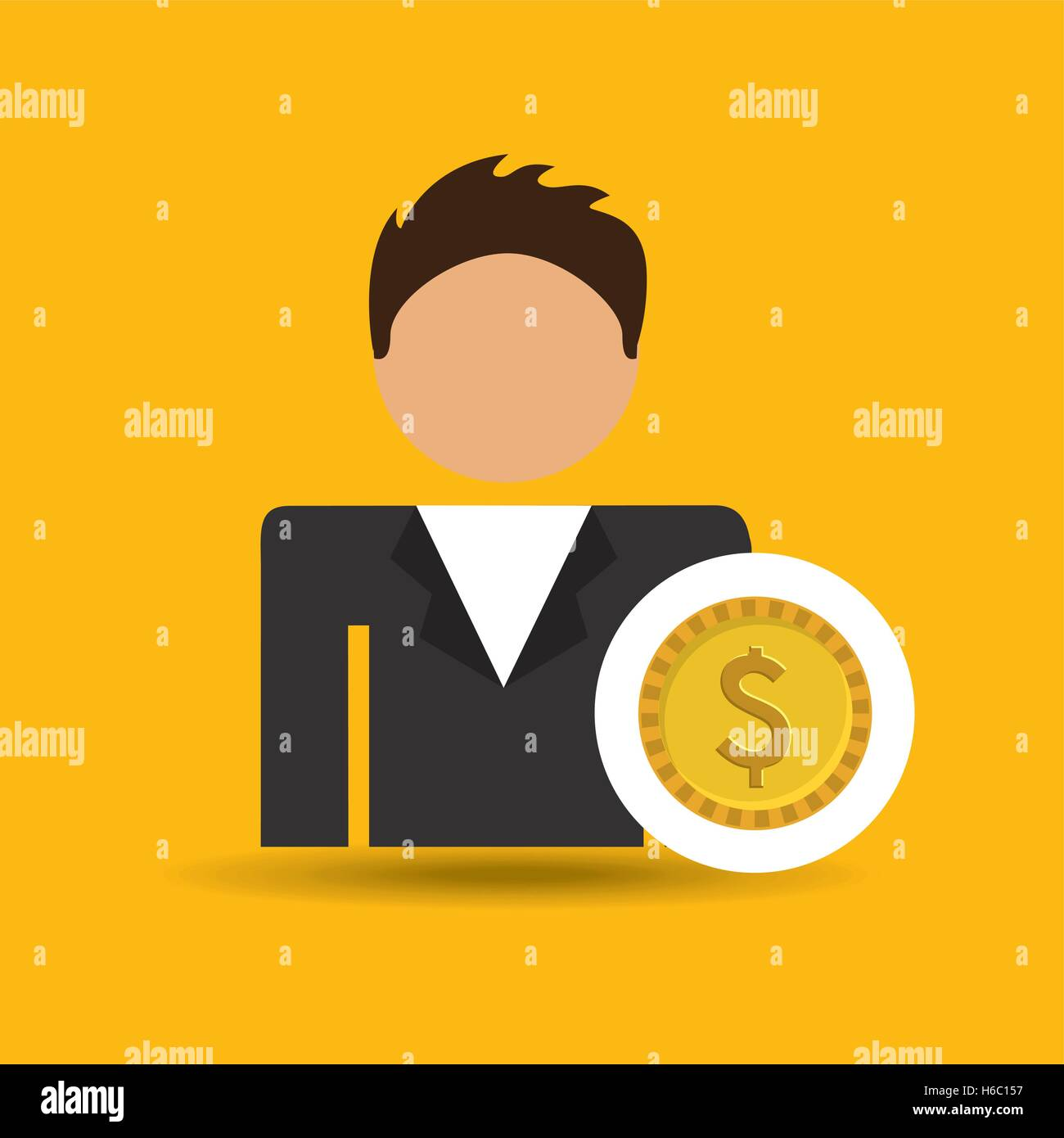 Chase Bank Icon Stock Vector Images Alamy