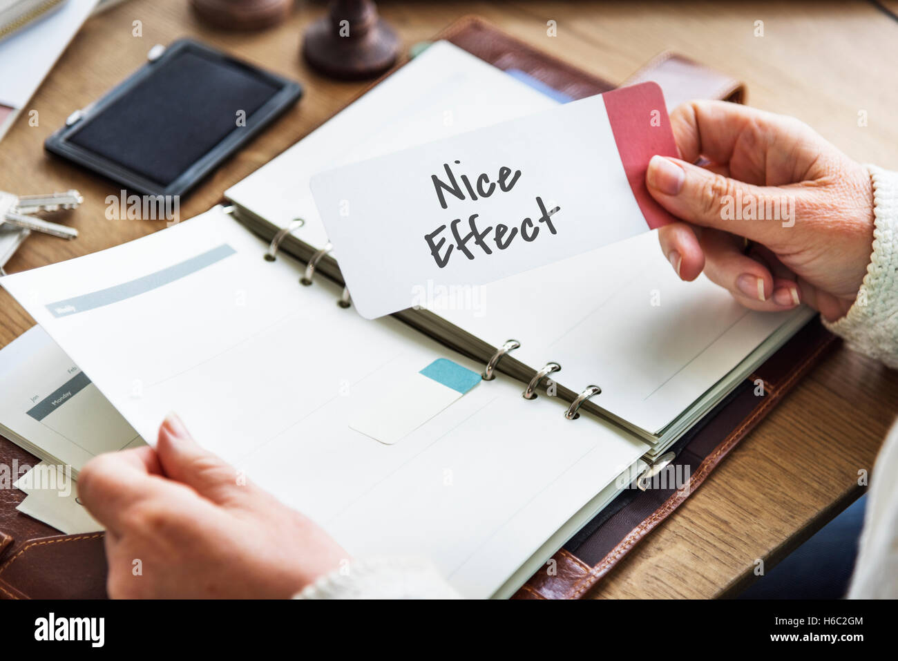 Nice Effect Well Done Concept - Stock Image