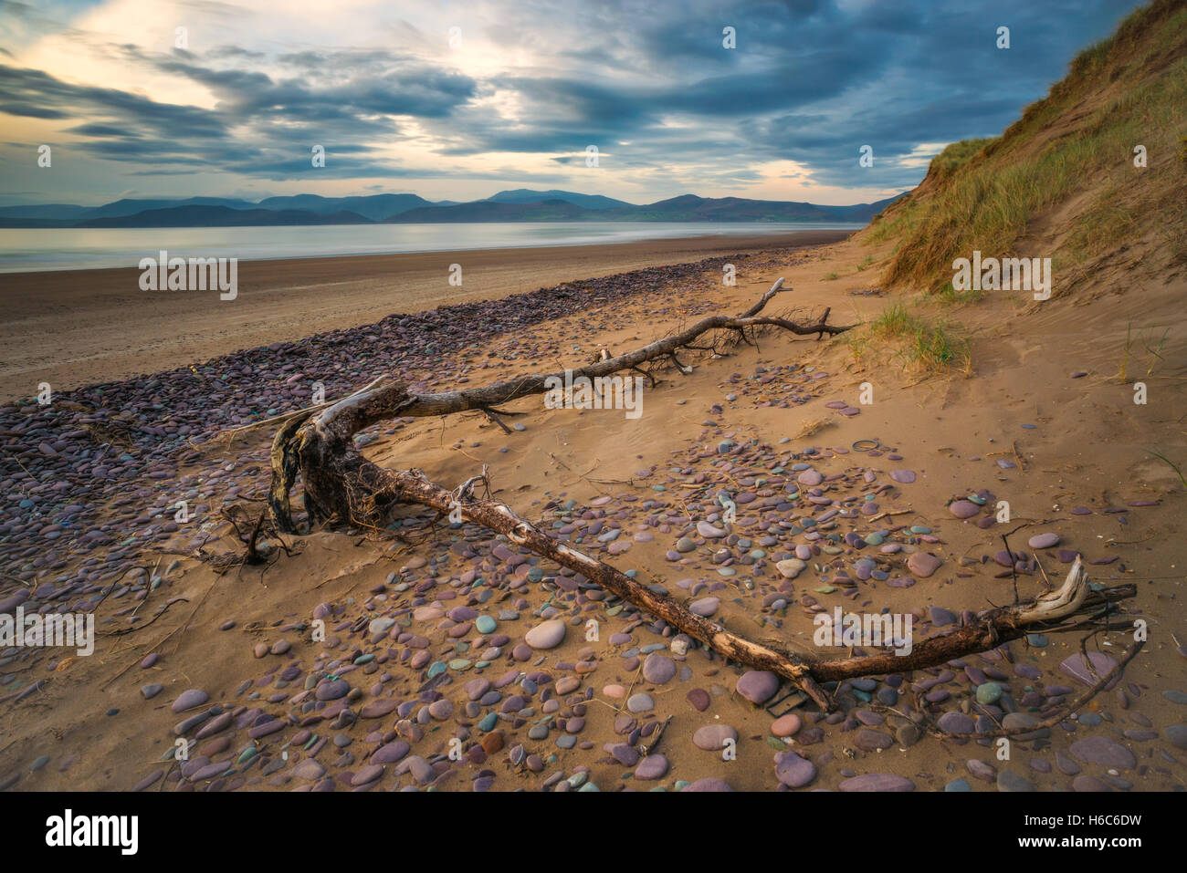 Rossbeigh Beach, Kerry - Stock Image