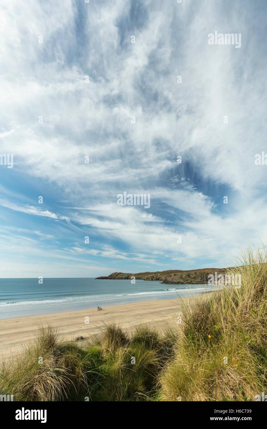Whitsands Bay beach, Pembrokeshire - Stock Image