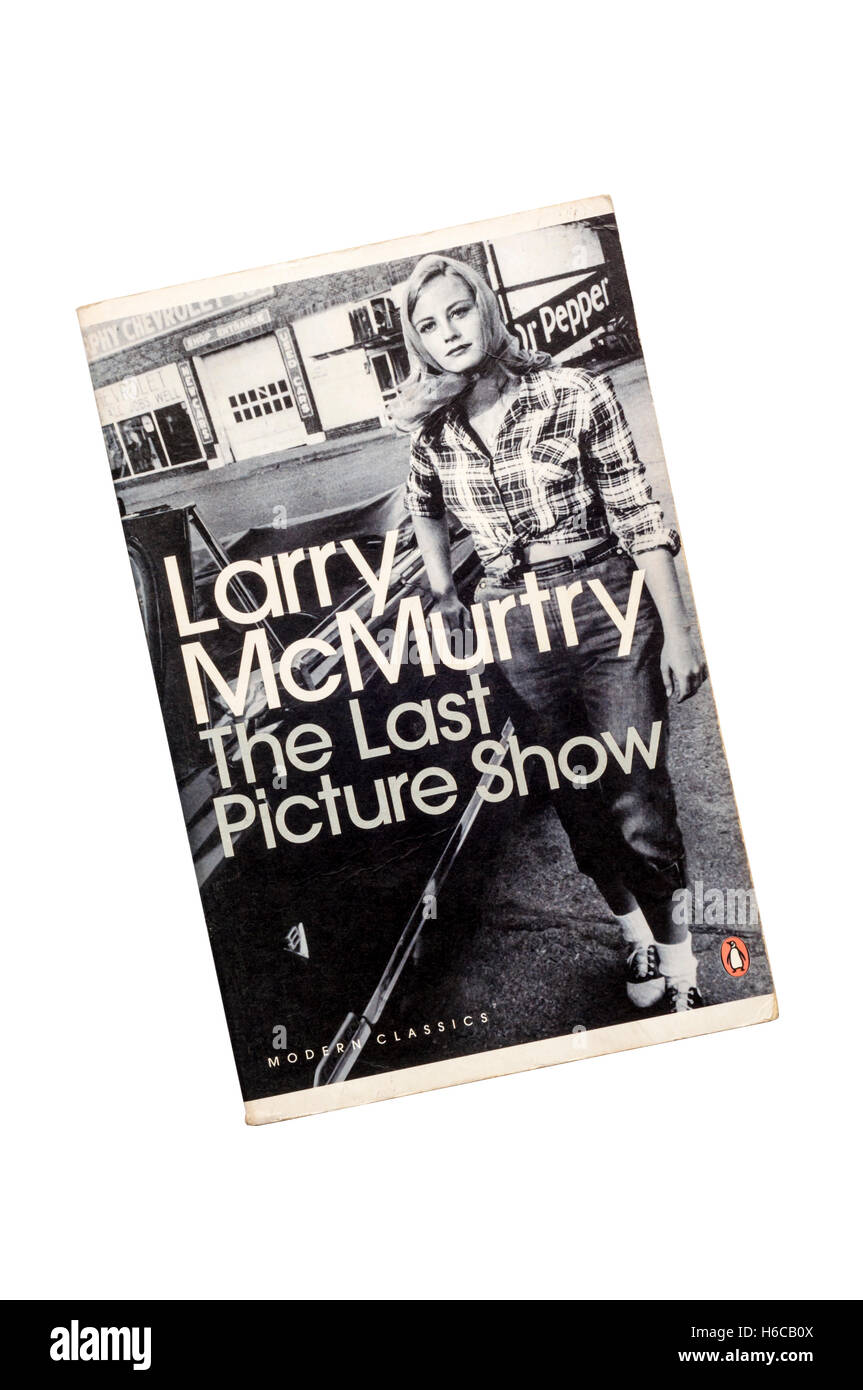 A paperback copy of The Last Picture Show by Larry McMurtry.  First published in 1966. - Stock Image