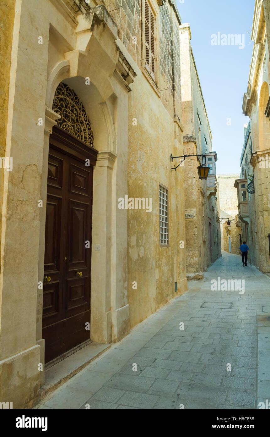 Mdina on Malta Stock Photo