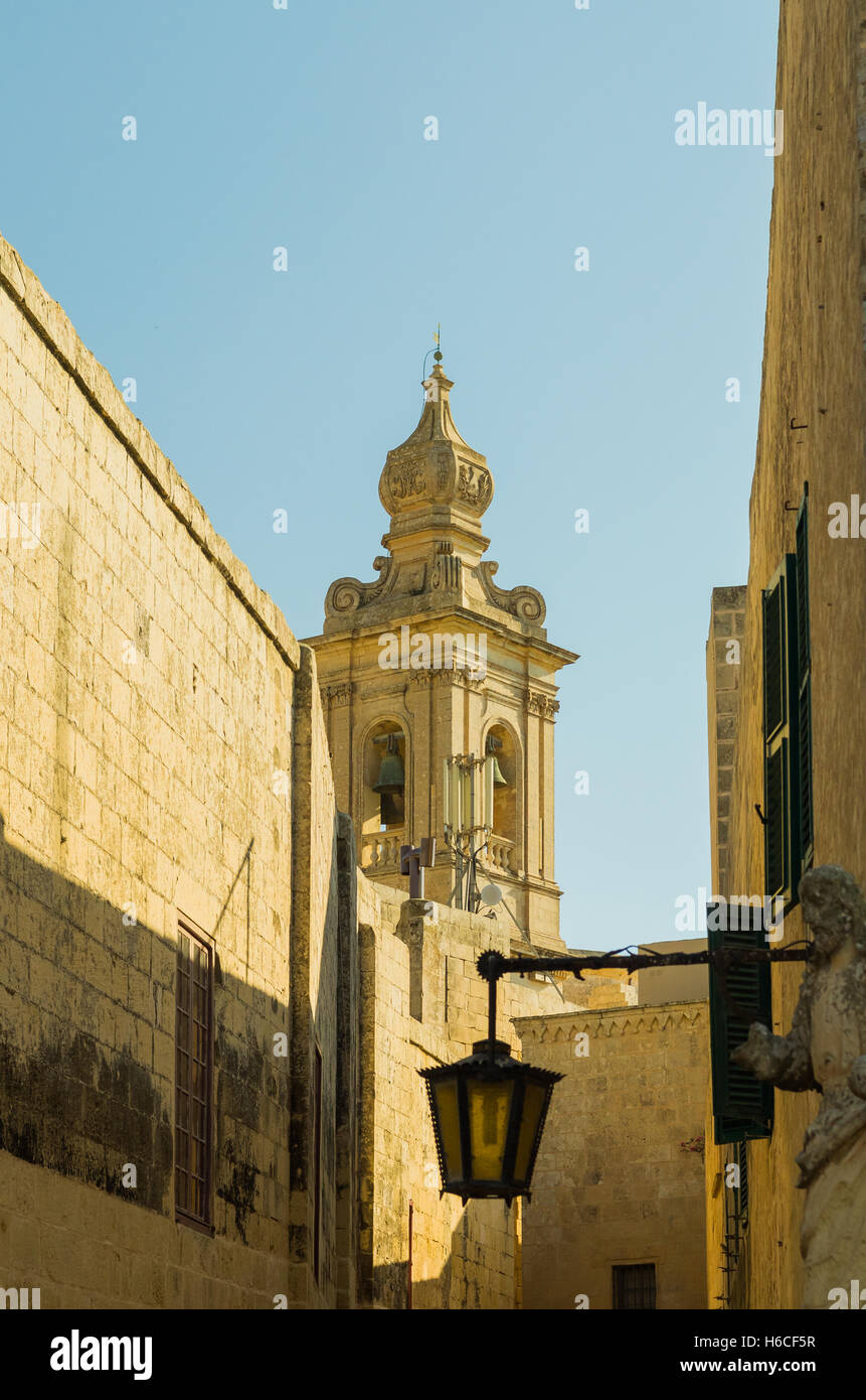 Mdina on Malta - Stock Image