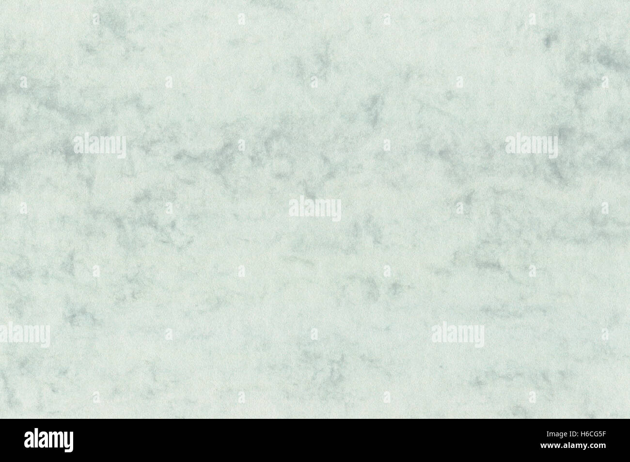 Natural decorative art letter marble paper texture, bright fine textured sea green blank empty copy space background Stock Photo