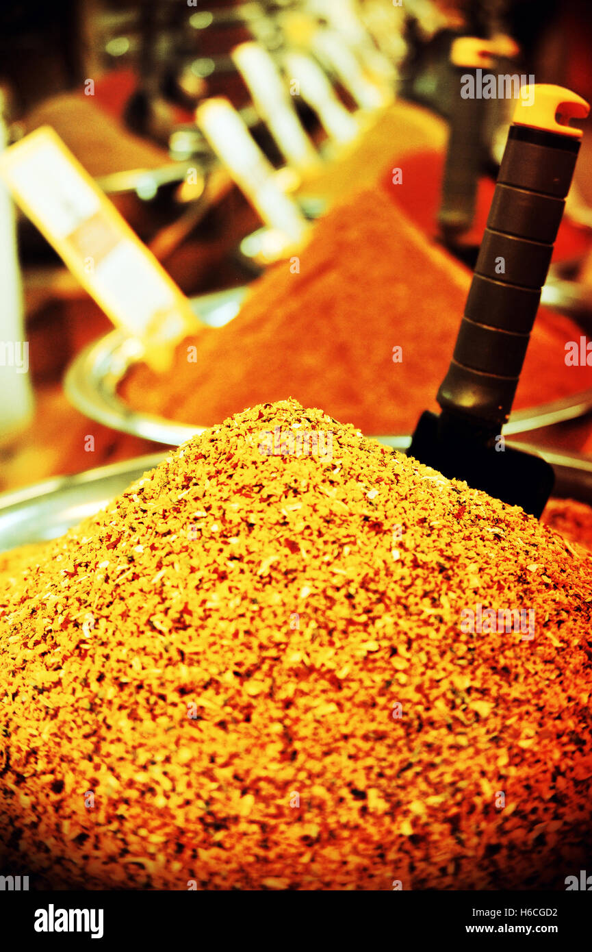 Seasonings, Israel. Stock Photo