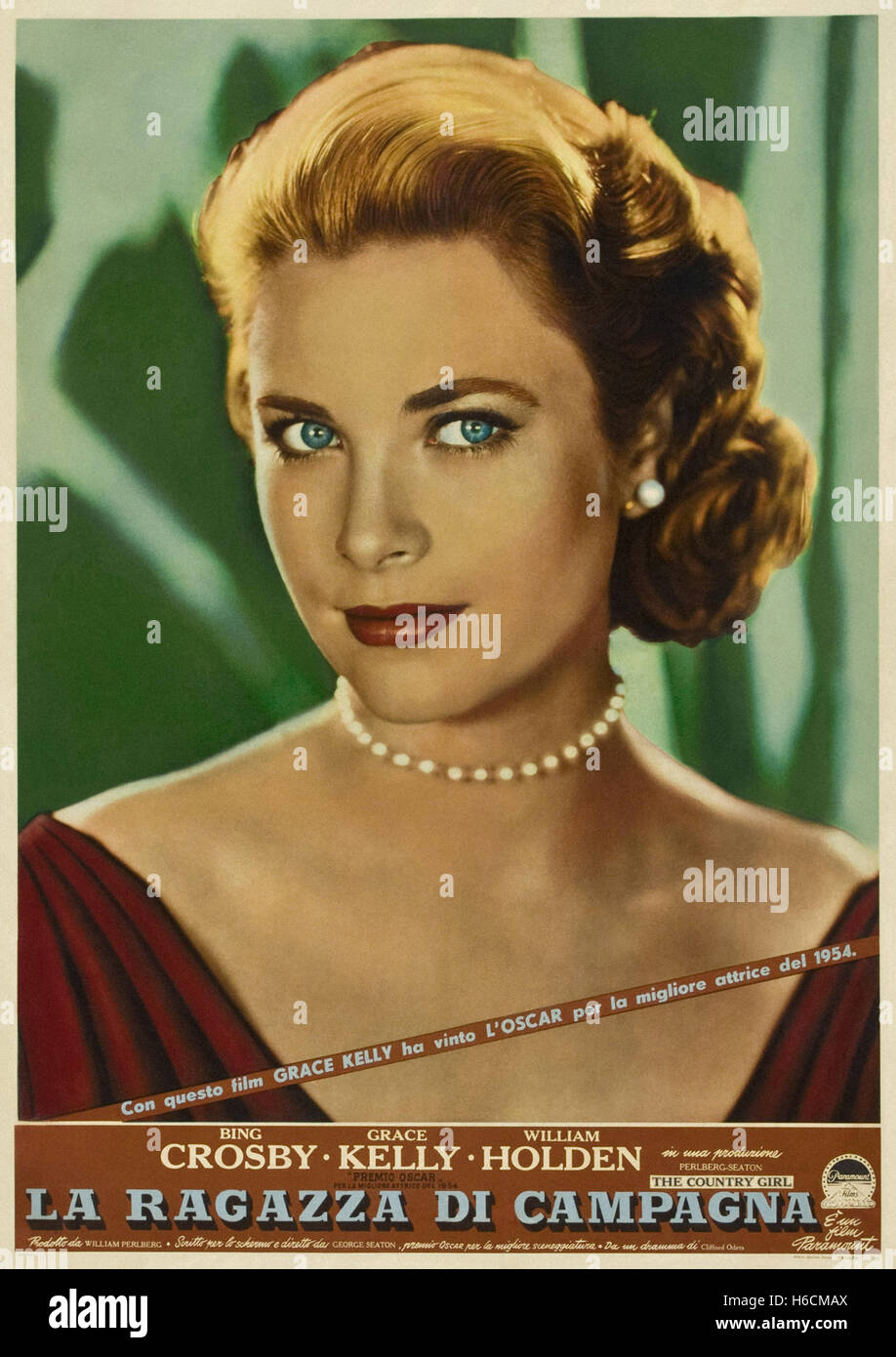 Country Girl, The (1954) - Italian Movie Poster - - Stock Image