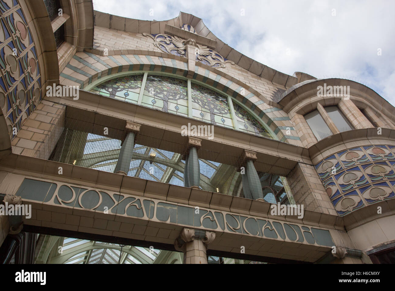 Royal Arcade, Norwich - Stock Image
