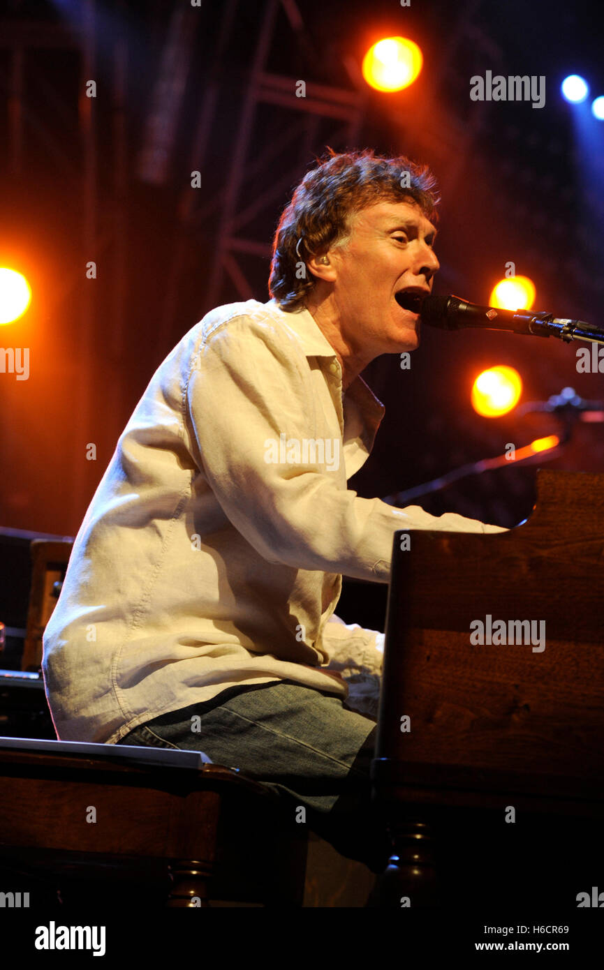 Steve Winwood performing live at Madison Square Garden in New York City on June 17, 2008. © David Atlas / MediaPunch - Stock Image