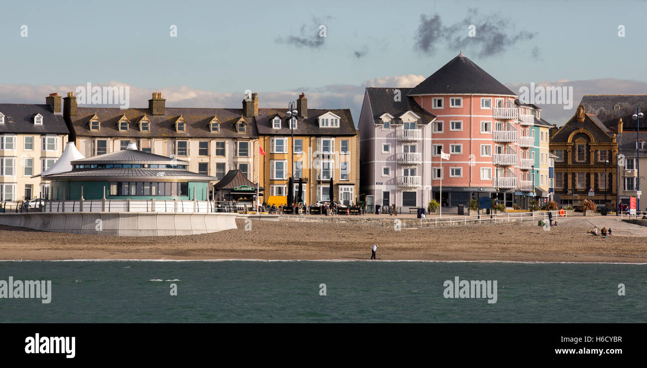Aberystwyth bandstand - Stock Image