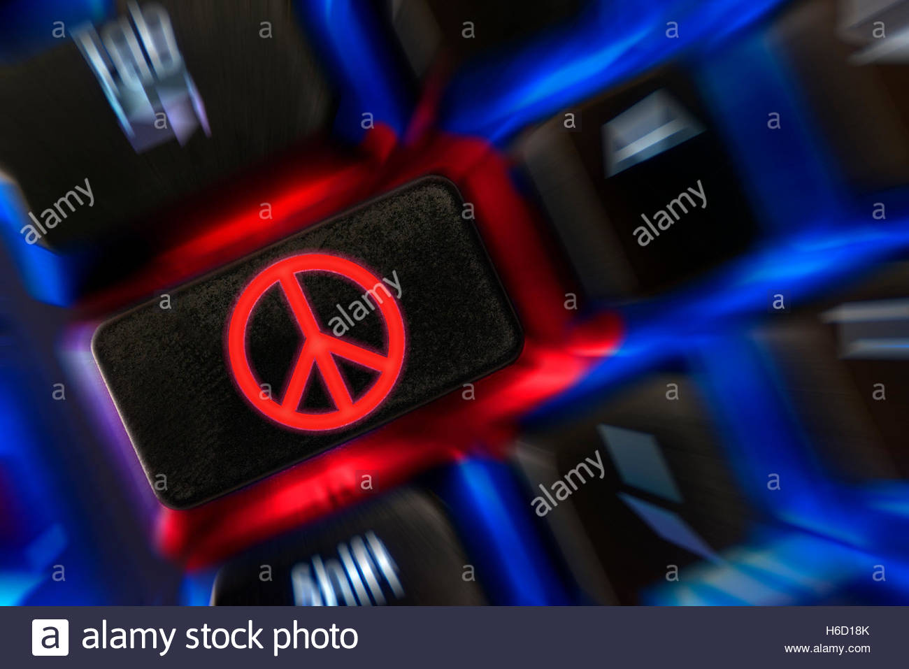 Cnd Symbol And The Peace Sign Stock Photos Cnd Symbol And The