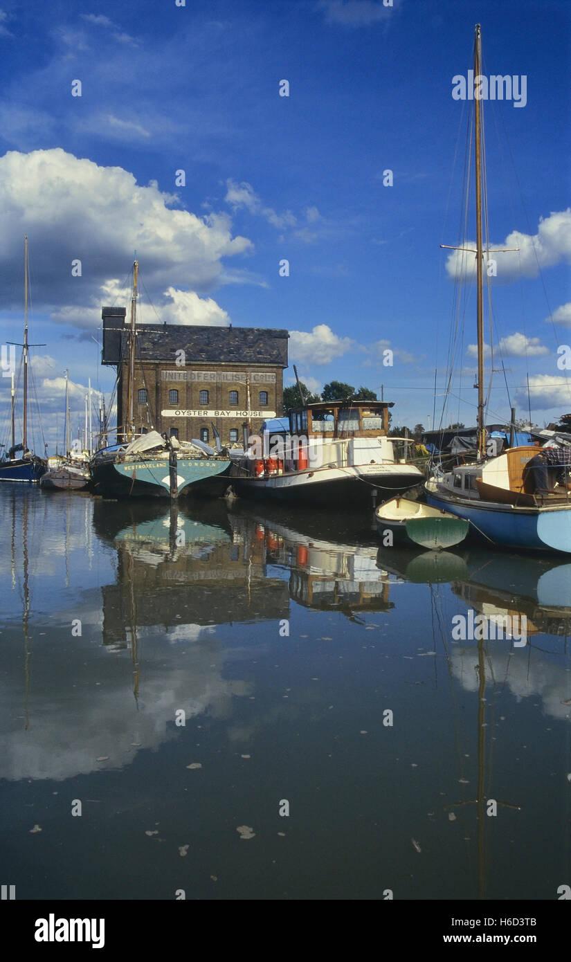 Oyster Bay House, Chambers Wharf Lane, Faversham. Kent. England. UK Stock Photo