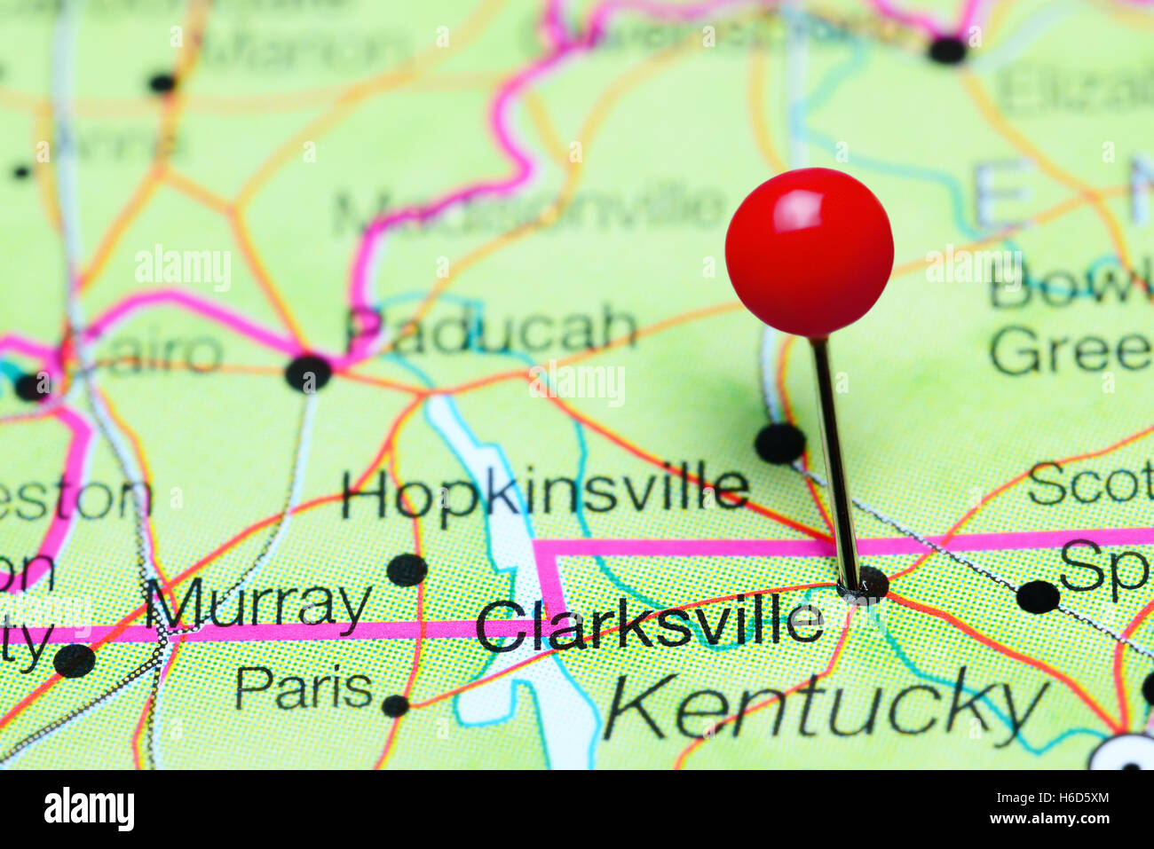 Clarksville pinned on a map of Tennessee, USA Stock Photo: 124450556 on map of grainger county tn, map of berry hill tn, map of tennessee, map of frayser tn, all map of tn, map of lobelville tn, map of petersburg tn, map of fall branch tn, map of johnsonville tn, map of millersville tn, map of clarkrange tn, map of pleasant view tn, map of arrington tn, map of adams tn, map of jefferson co tn, map of ridgetop tn, map of tallassee tn, map of madison co tn, map of rivergate tn, map of mountain home tn,