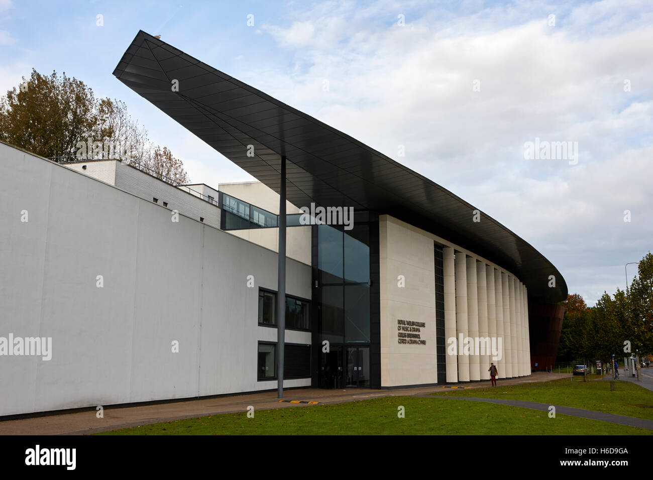 Royal Welsh College of Music and Drama Cardiff Wales United Kingdom - Stock Image
