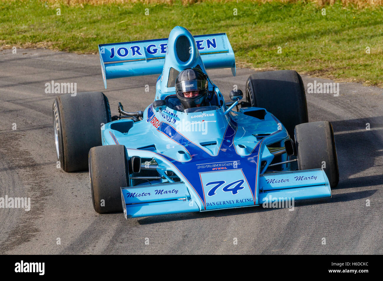 1974 Eagle-Chevrolet 755 with driver Frank Lyons at the 2016 ...