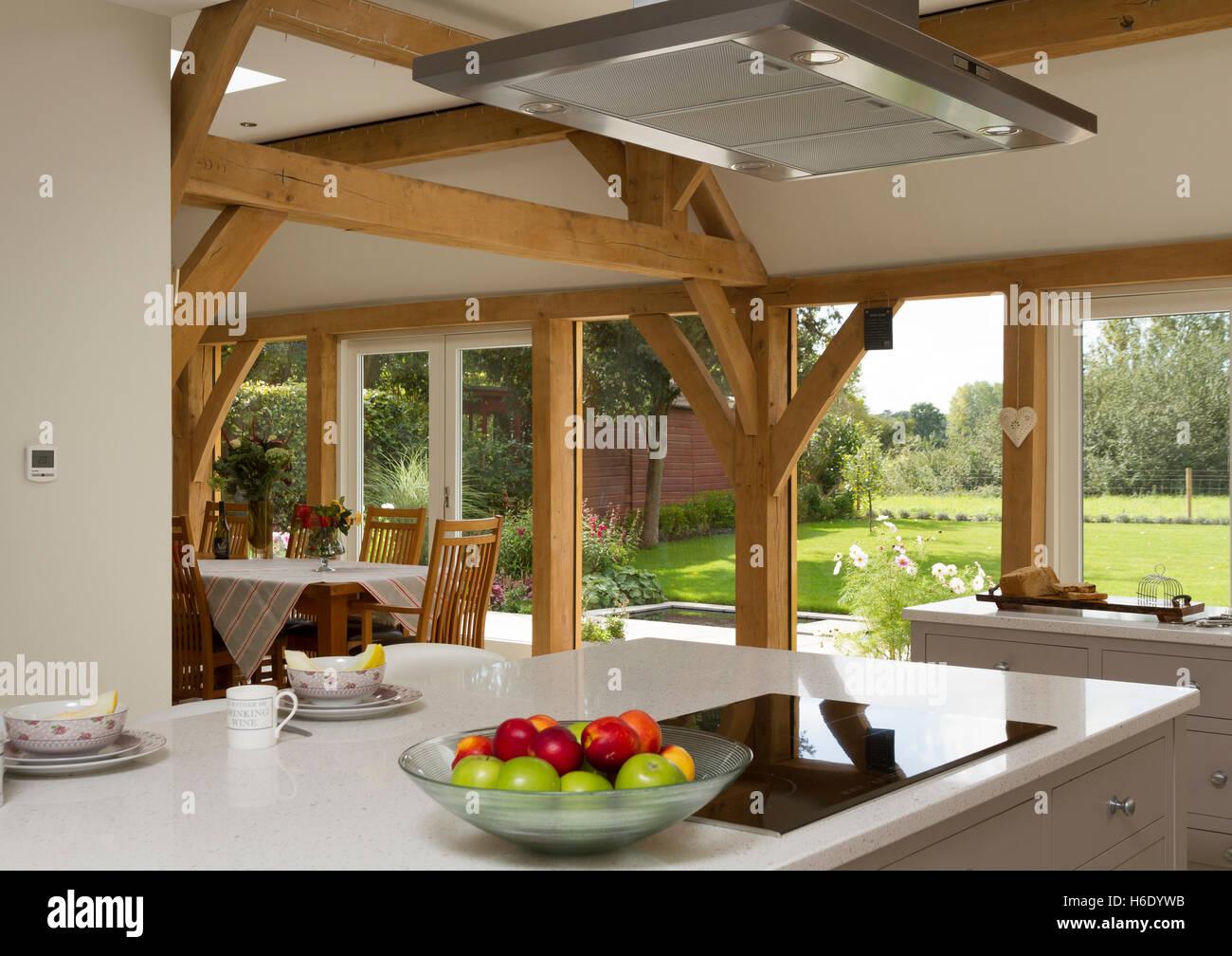 Oak Framed Kitchen Dining Room Extension