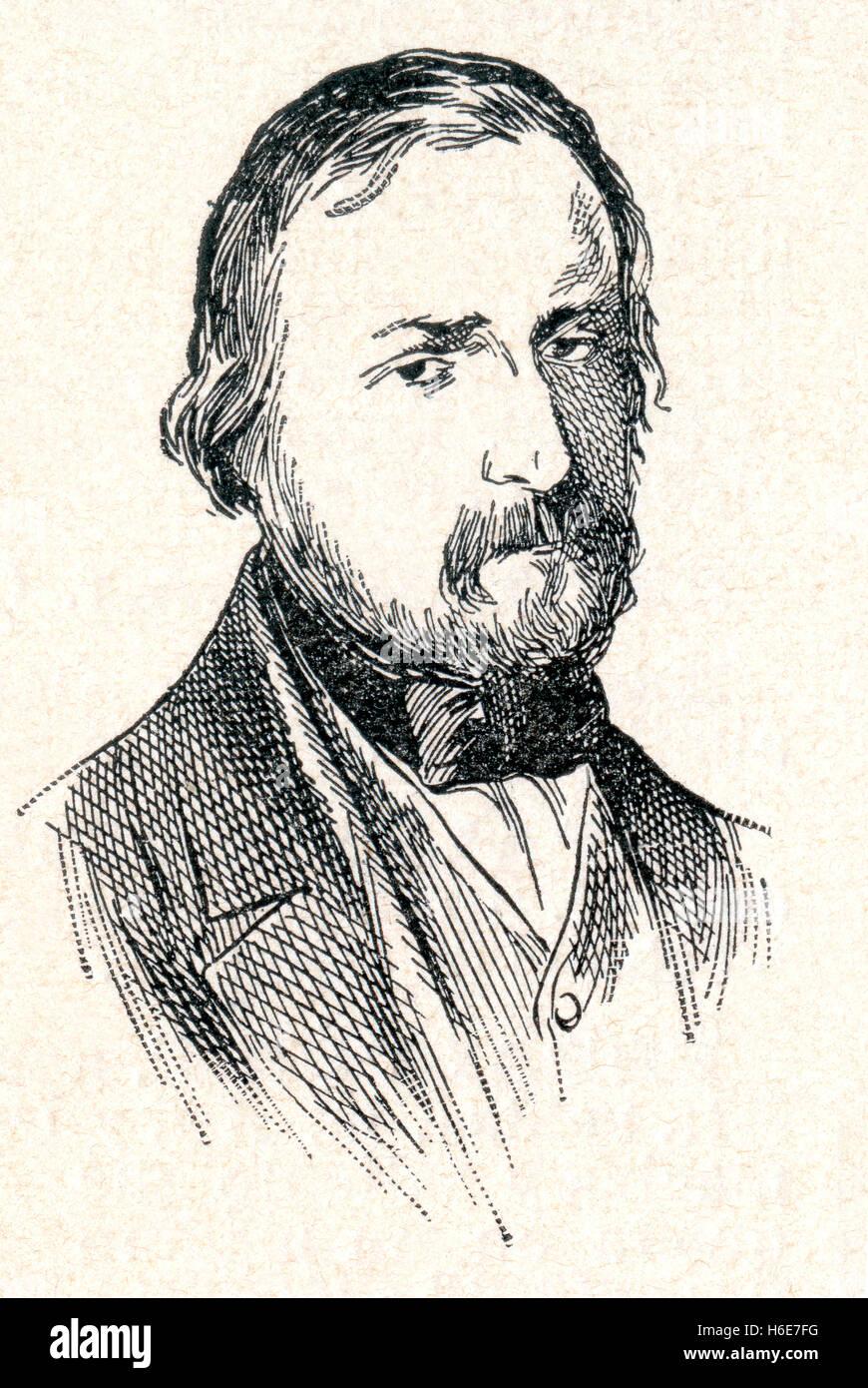 Joaquim Espalter i Rull or, Joaquín Espalter y Rull, 1809 -1880.  Catalonian painter. - Stock Image