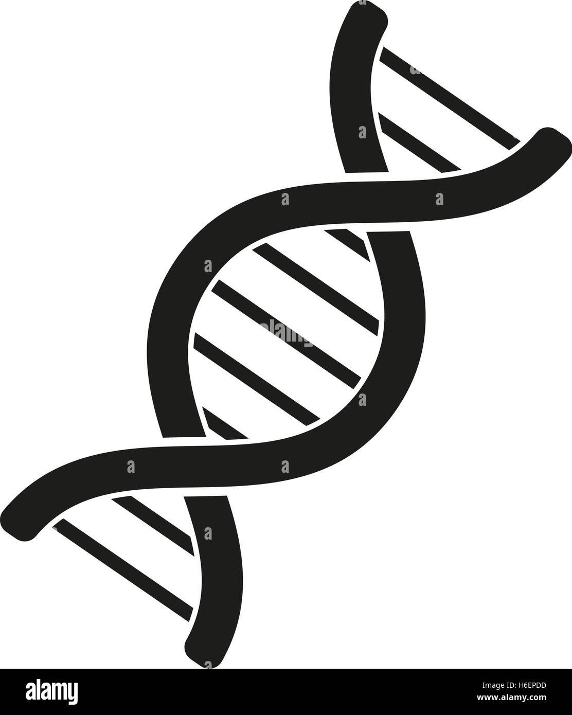 The Dna Icon Genetics And Medicine Molecule Chromosome Biology