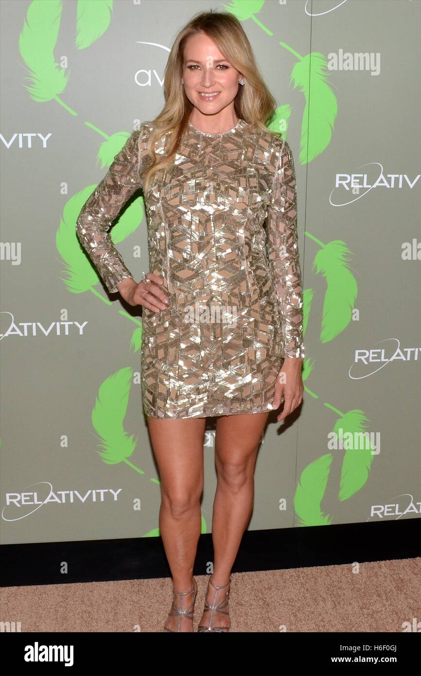 Jewel arrives at the The 100th Anniversary of the Aviva 'A' Gala at the Four Seasons Hotel in Beverly Hills - Stock Image