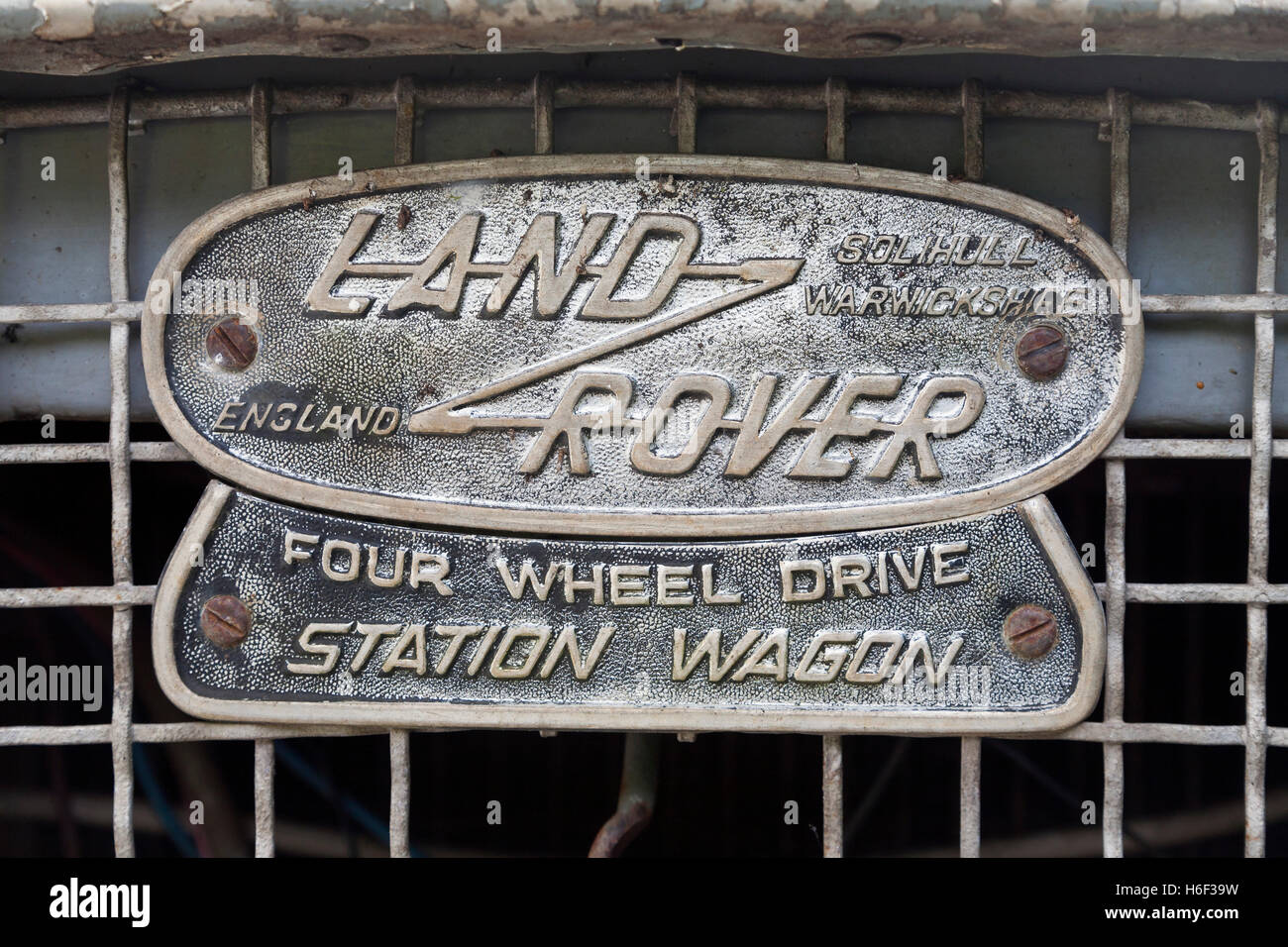 Land Rover - Stock Image