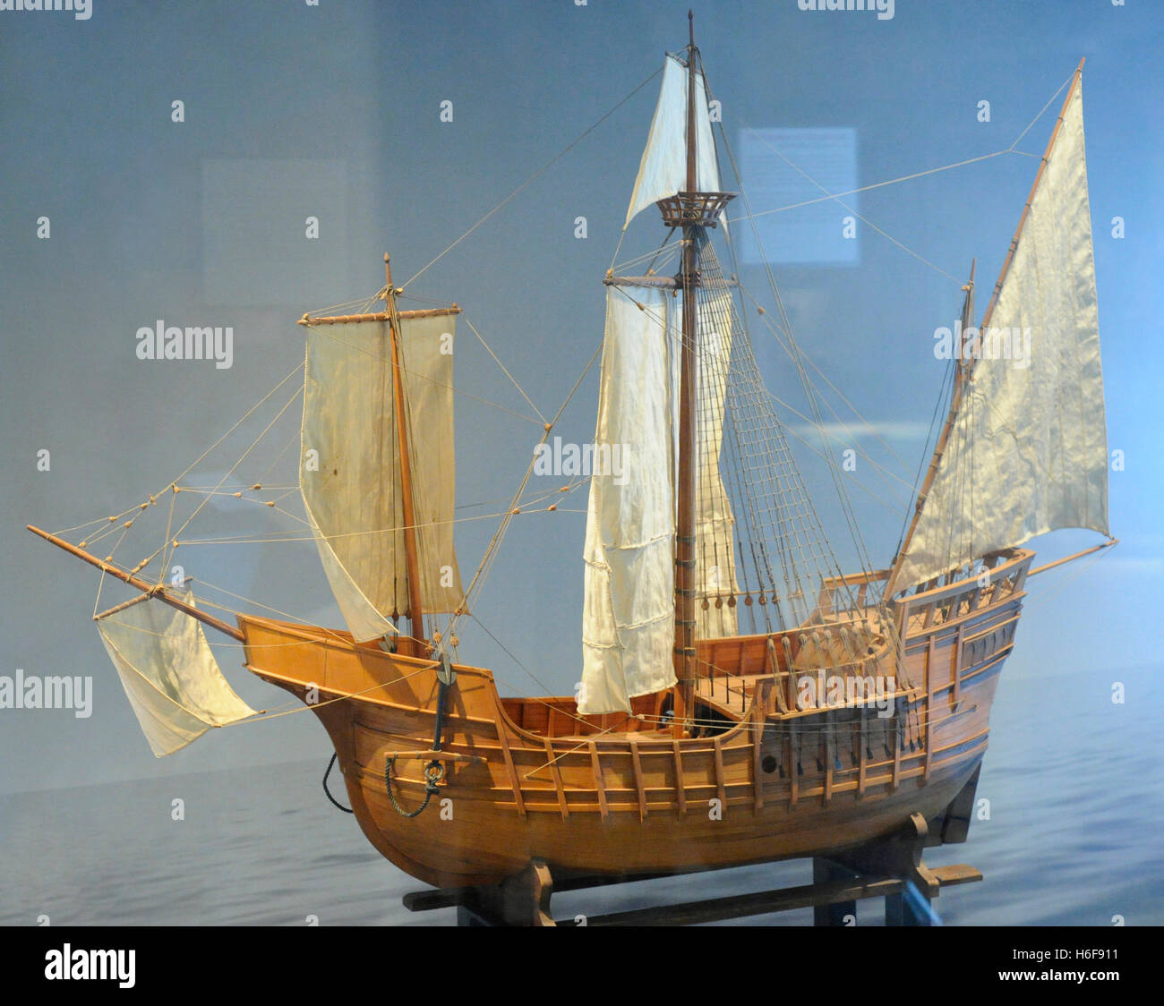 Age Of Discovery  Caravel Ship  Used By Oceanic