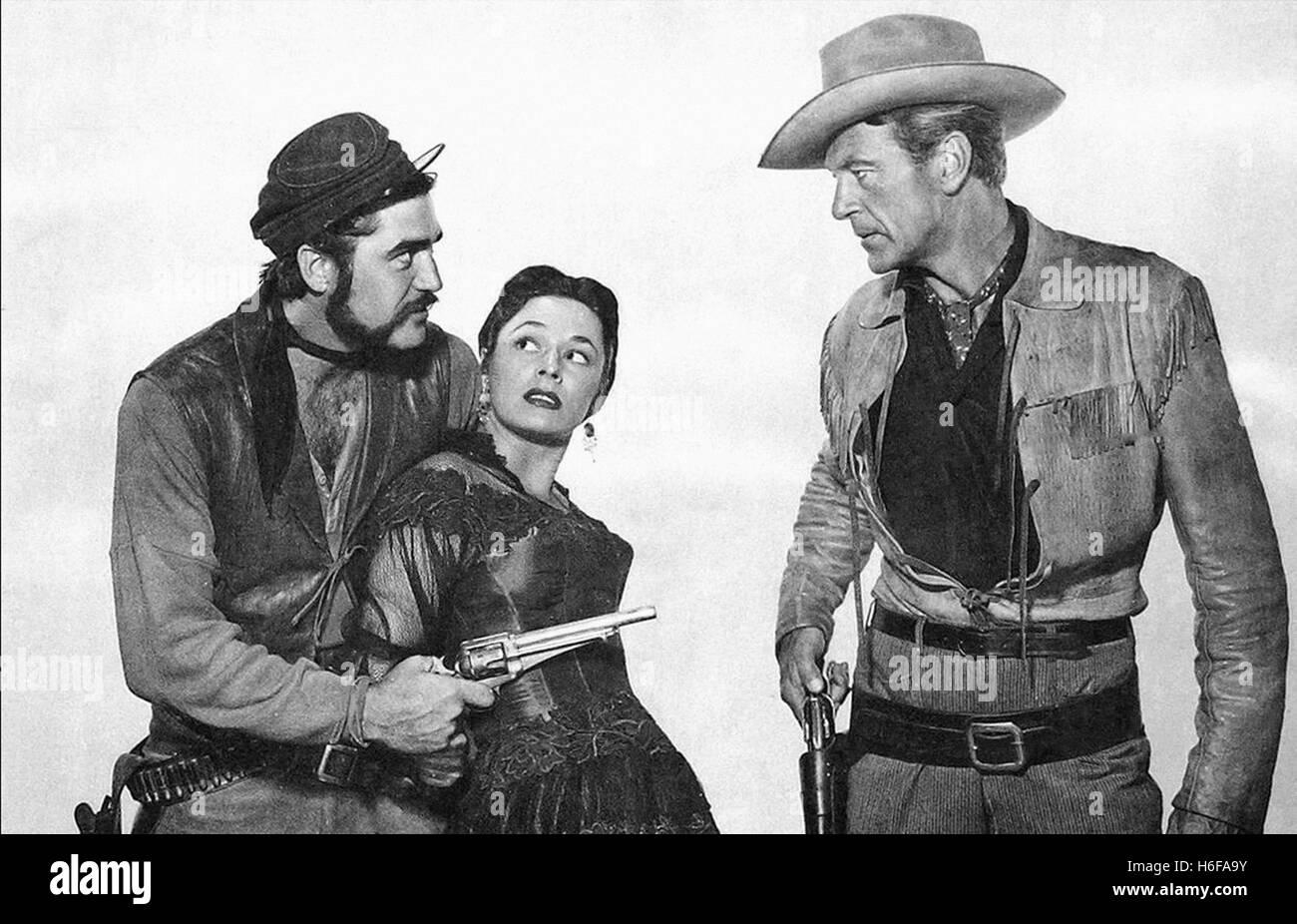Dallas (1950) - Stock Image