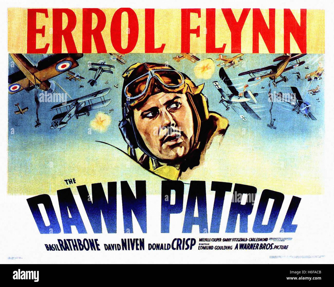 Dawn Patrol,The (1938) - Movie Poster - - Stock Image