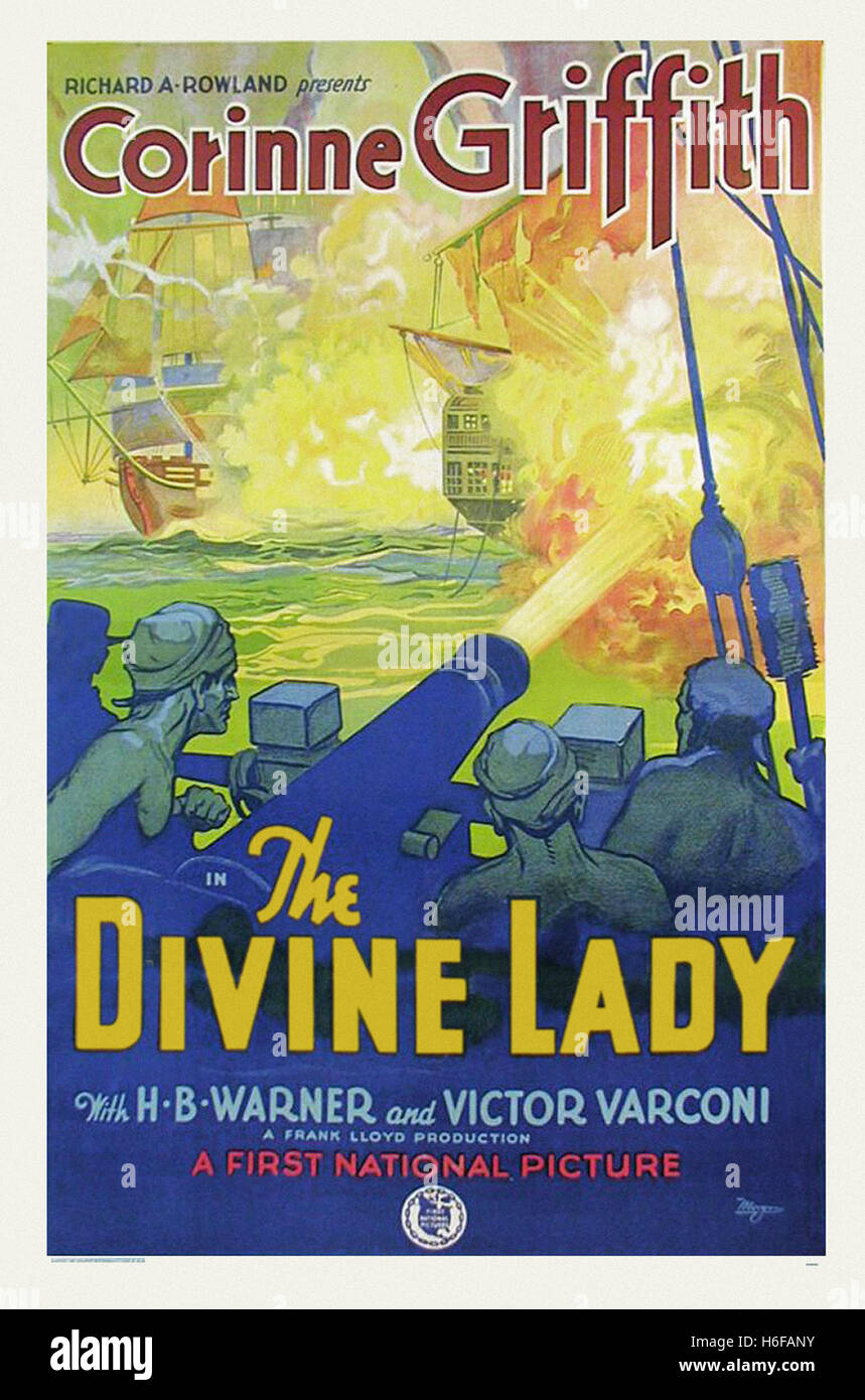 The Divine Lady - Movie Poster - - Stock Image