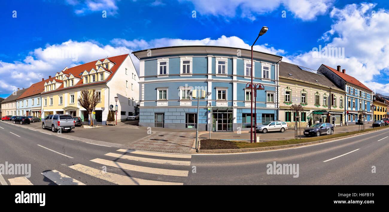 Town of Bad sankt Leonhard im Lavanttal - Stock Image