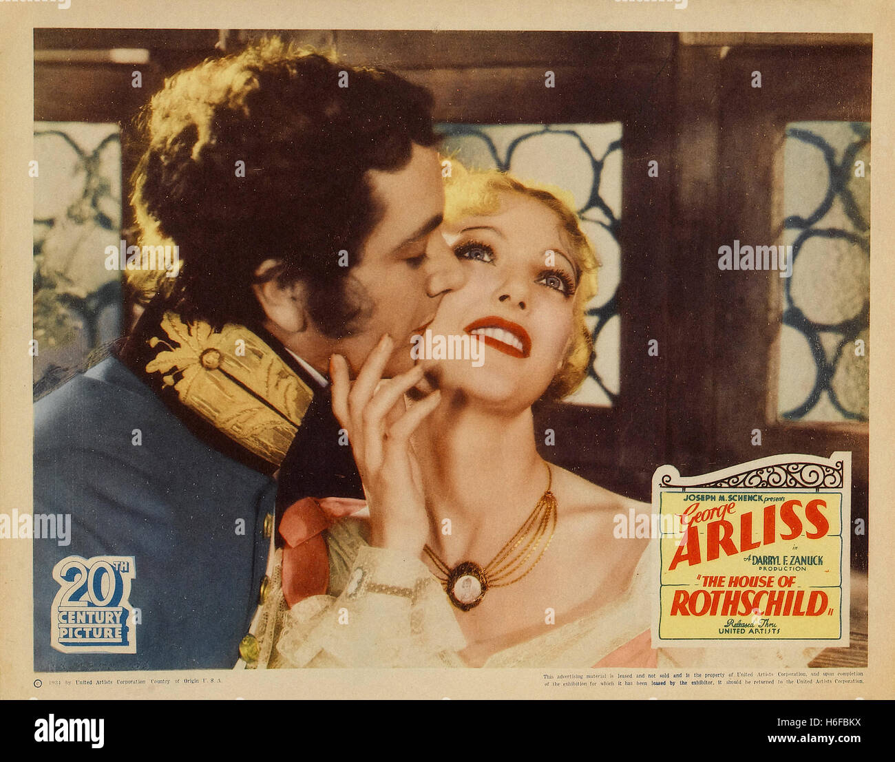 The House of Rothschild - Movie Poster - - Stock Image