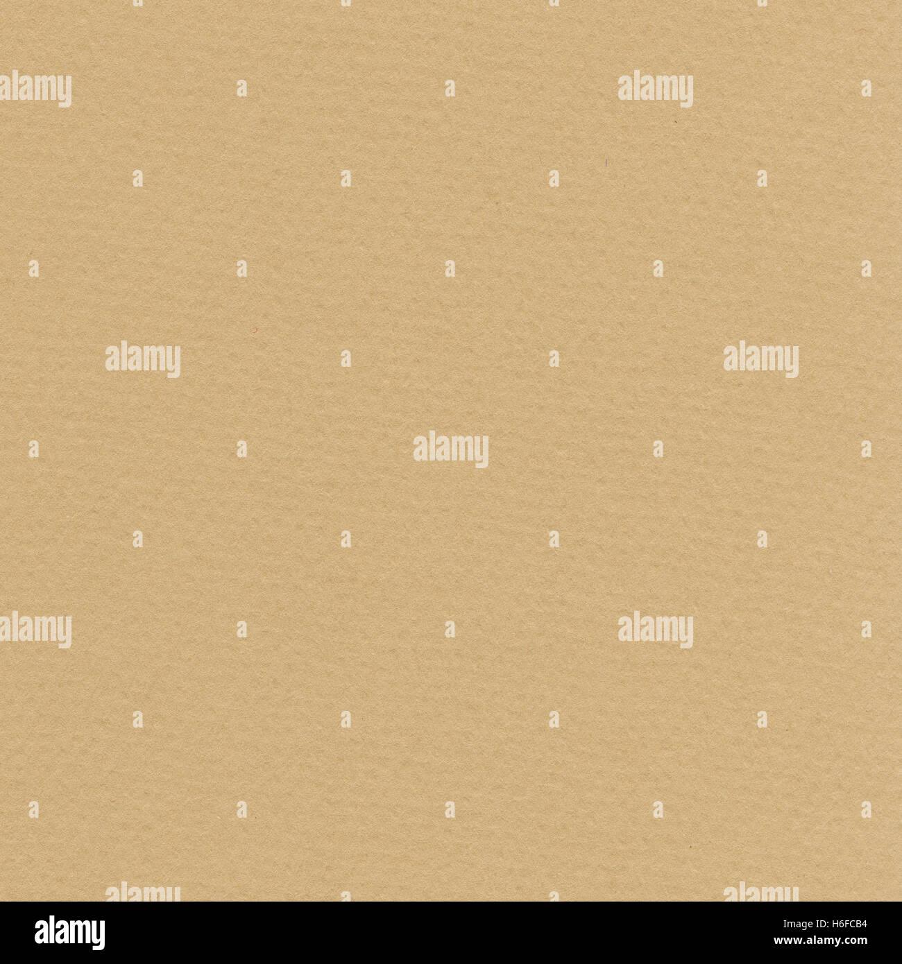 High resolution scan of beige fiber paper. Scanned at 2400dpi using a professional scanner. - Stock Image
