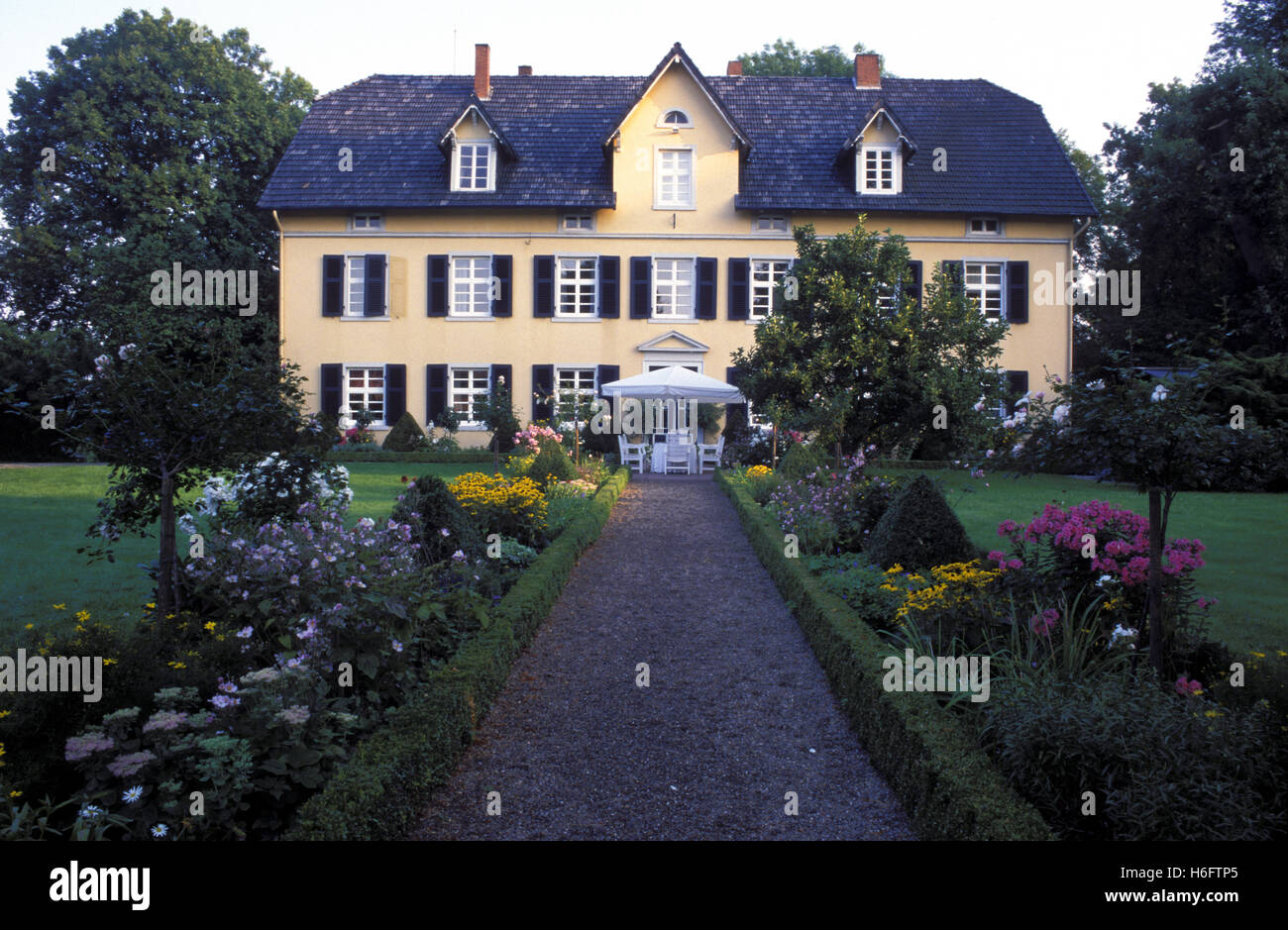 Germany, Lower Saxony, house near Rinteln.  eln. - Stock Image