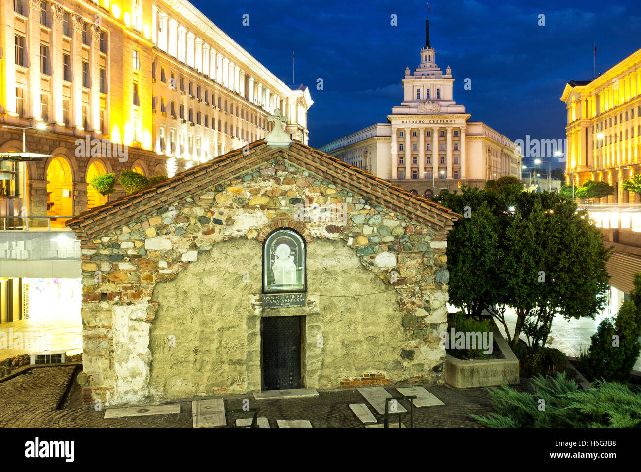 Church of St Petka of the Saddlers, Sofia, Bulgaria - Stock Image