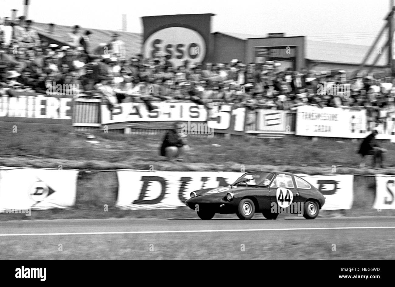 Deep Sanderson Lawrence at Le Mans 1963 - Stock Image