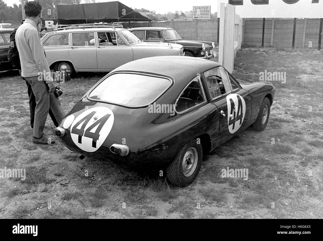 DS301  Lawrence Rear Le Mans 1963 - Stock Image