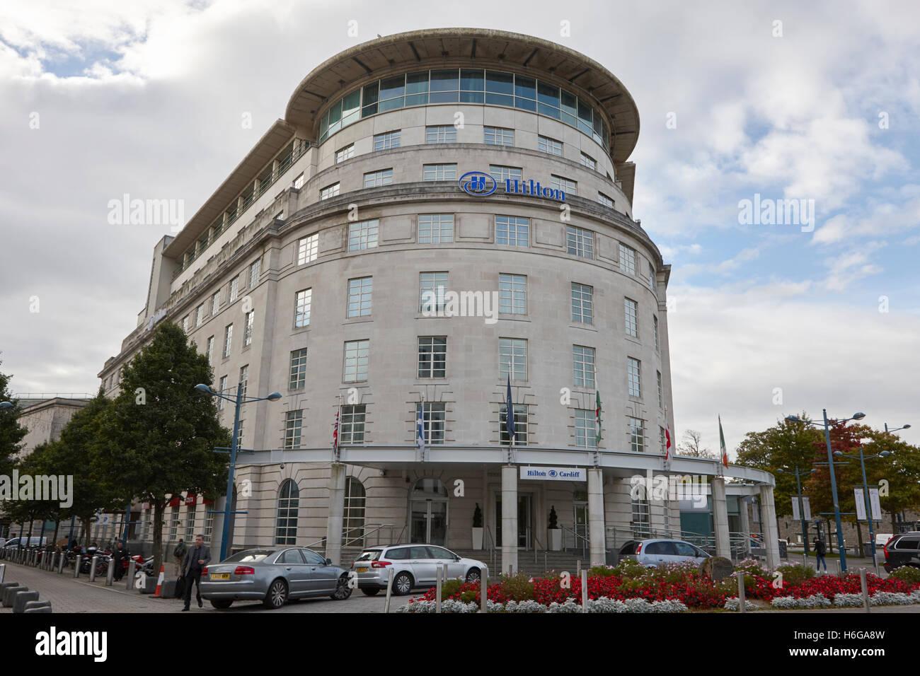 Cardiff hilton hotel Wales United Kingdom - Stock Image