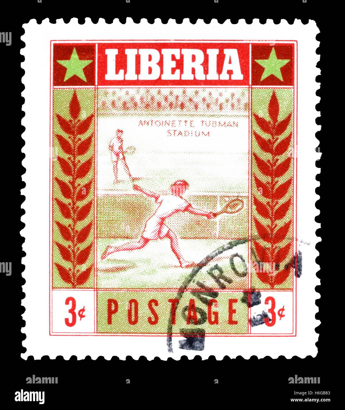 Liberia stamp 1955 Stock Photo