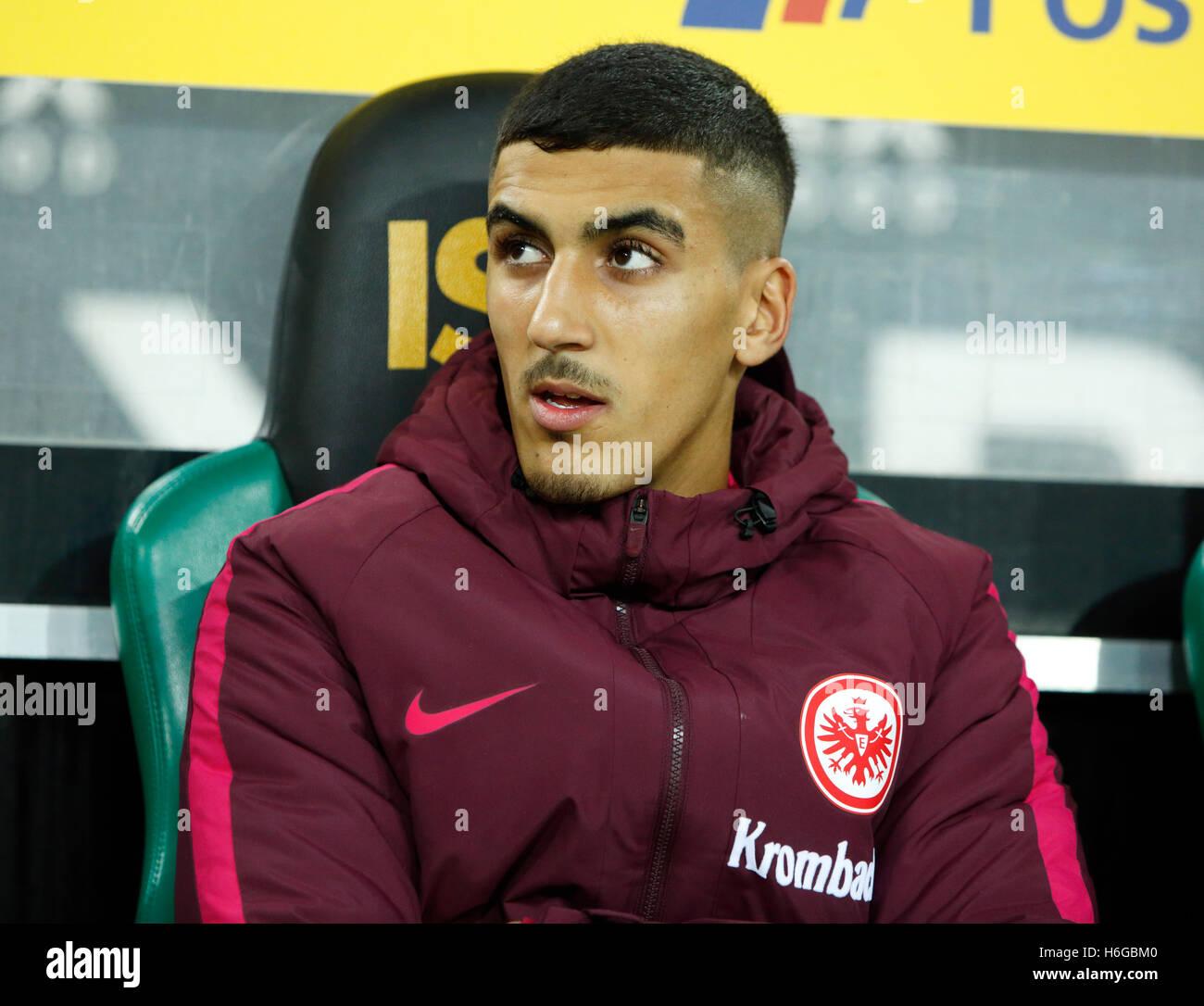 sports, football, Bundesliga, 2016/2017, Borussia Moenchengladbach versus Eintracht Frankfurt 0:0, Stadium Borussia - Stock Image