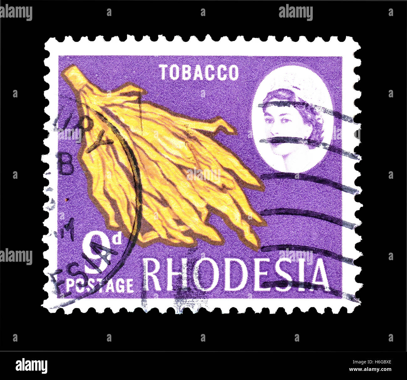 Rhodesia stamp 1968 - Stock Image